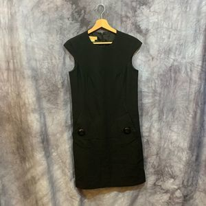Michael Kors Collection Black Shift Dress Size 4